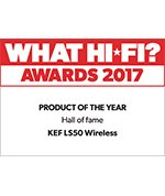 KEF LS50 WIRELESS HALL OF FAME AWARD WHAT HIFI