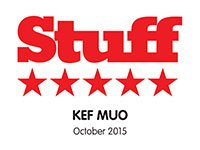 KEF Muo Receives Stuff Five Star Review!