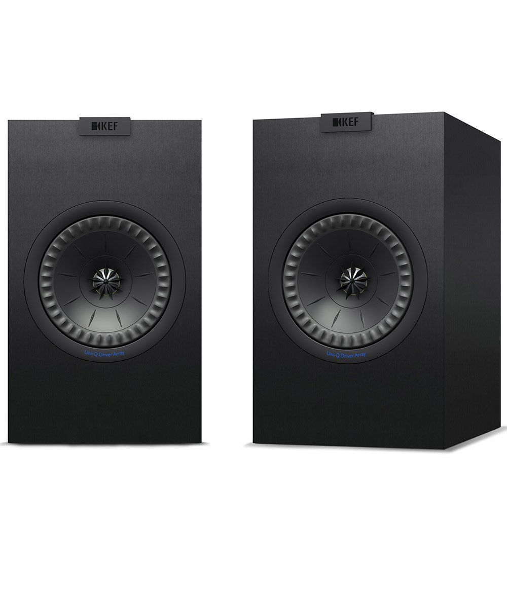 KEF Q150 Bookshelf Speaker Pair in Black  | KEF Direct