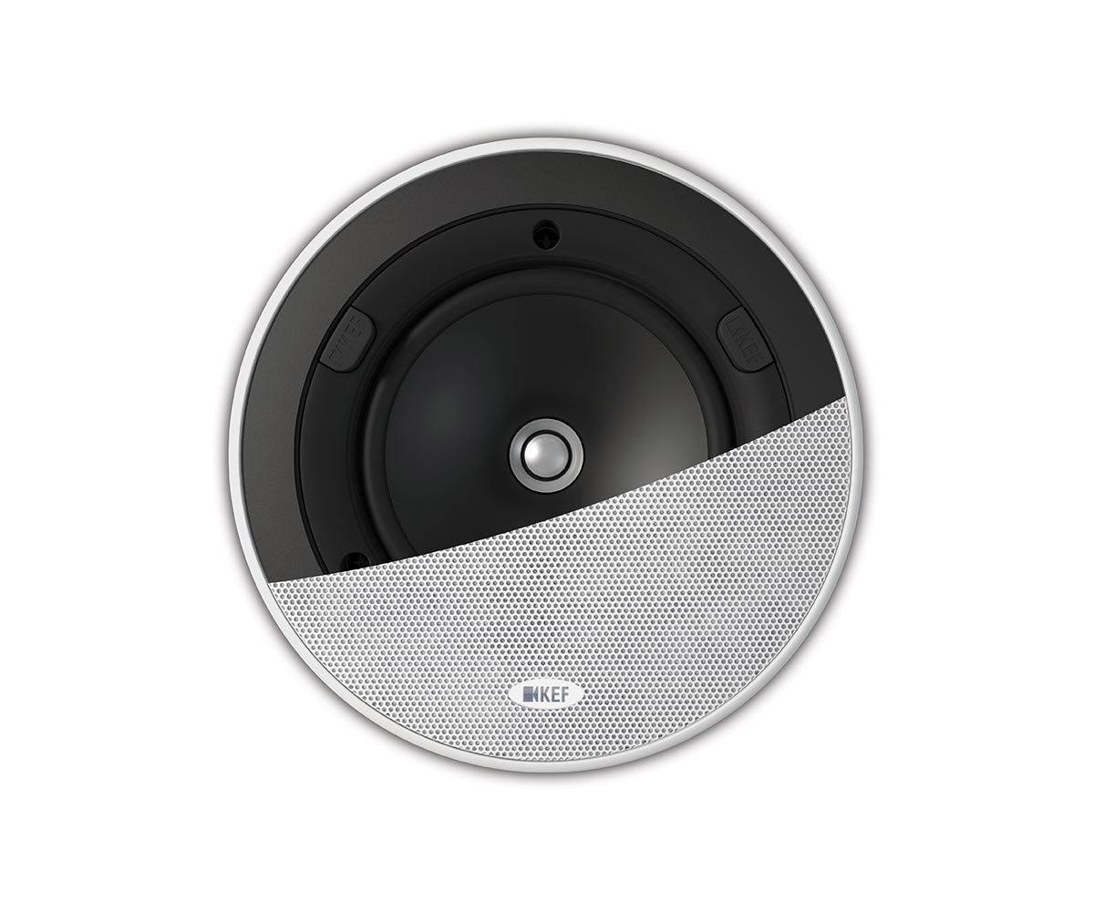 Ci130ER In Ceiling Speaker Front With Grille | KEFDirect