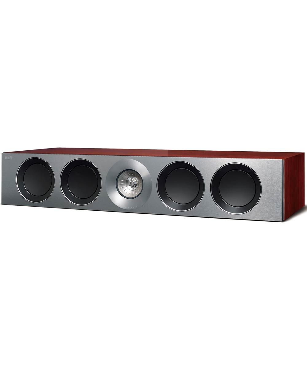 Reference 4c Center Channel Speaker in Luxury Rosewood | KEFDirect