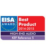 KEF Reference 5 EISA Award Best Product 2014-2015.