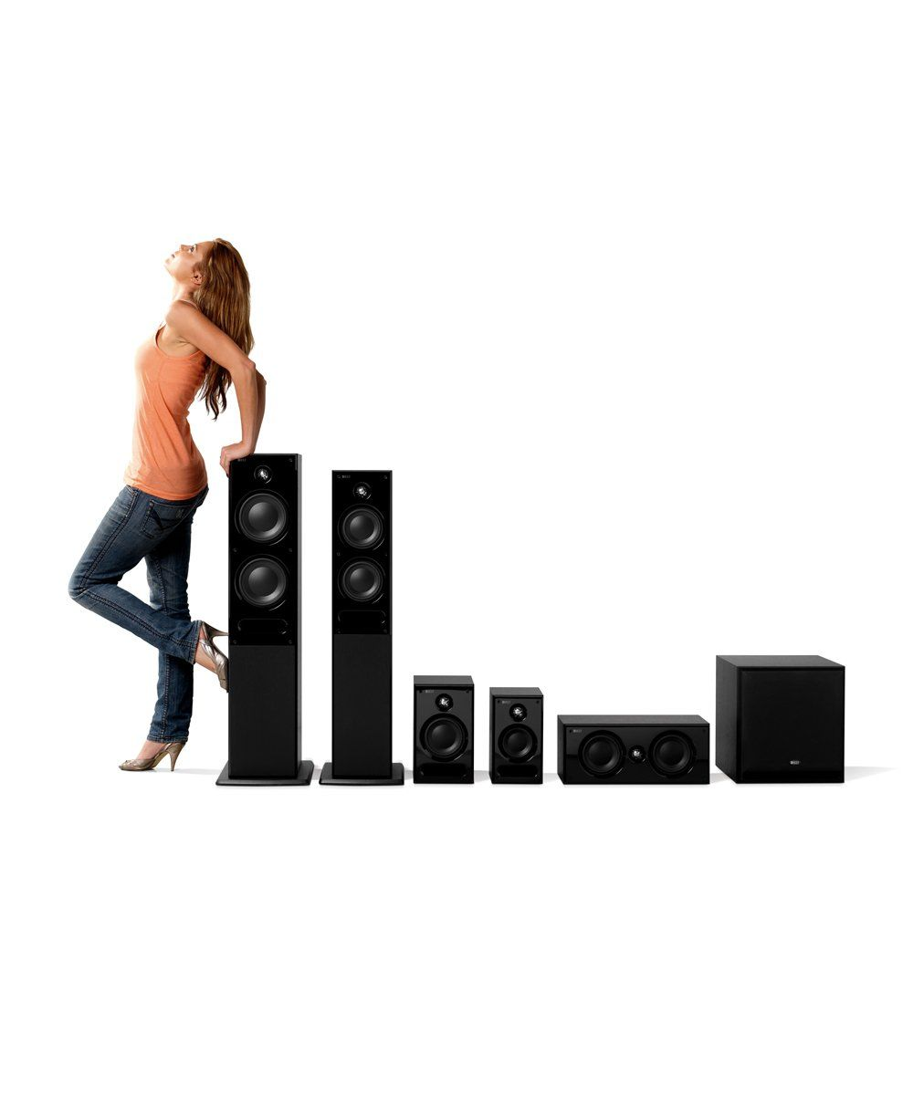 KEF C Series line of home theater speakers