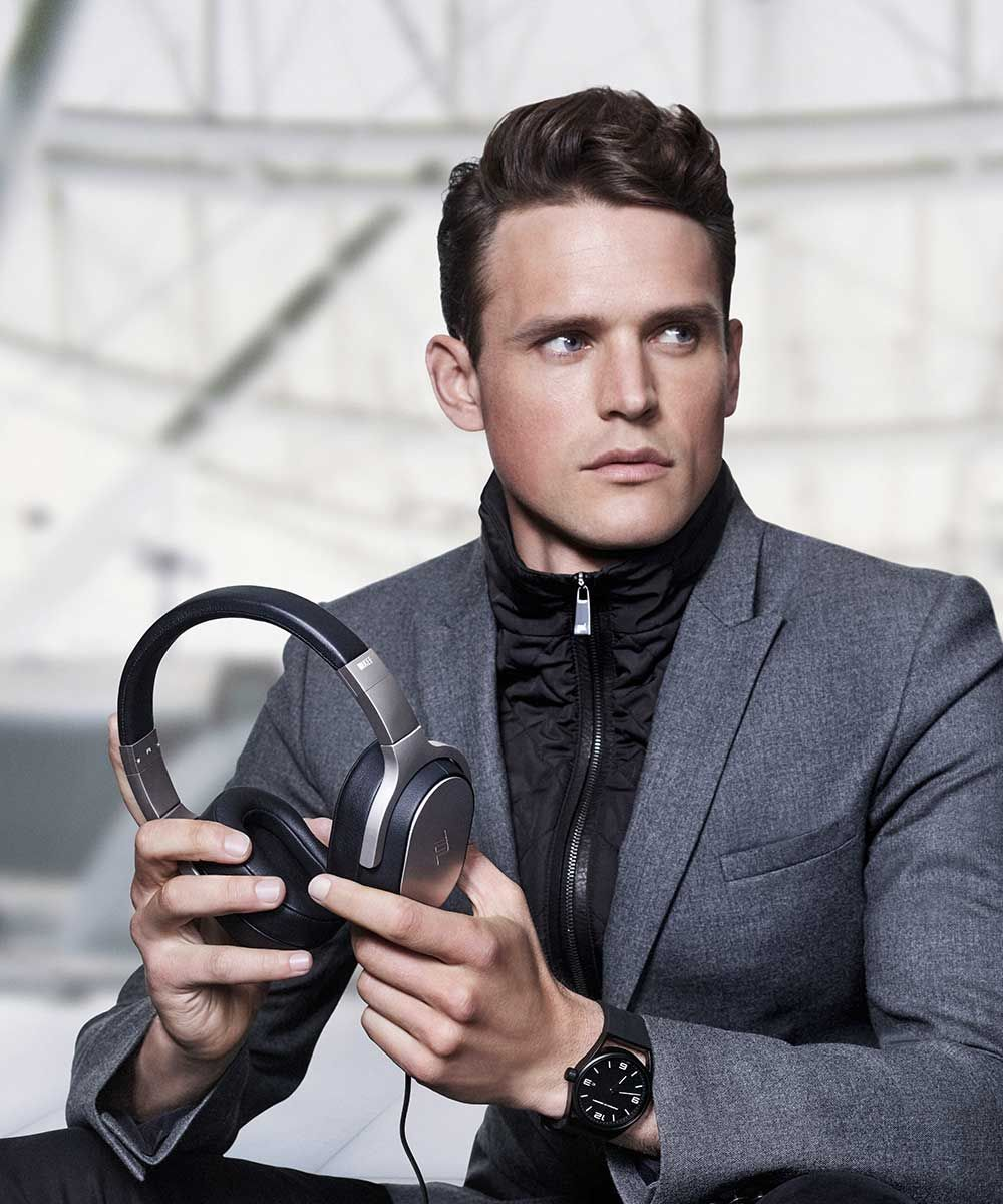 KEF Porsche Design Bluetooth Headphones Office