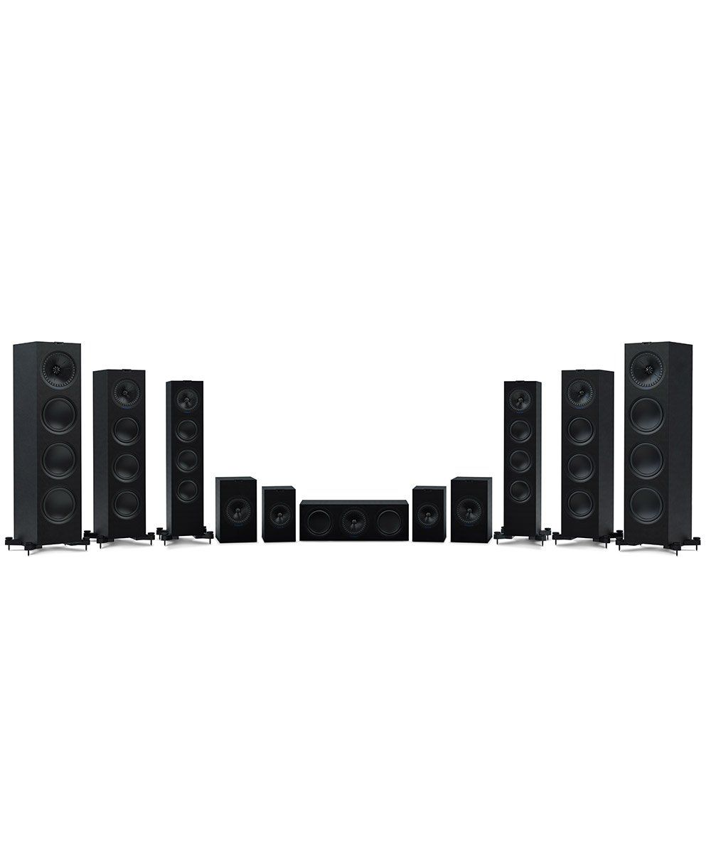 KEF Q Series full line in Black