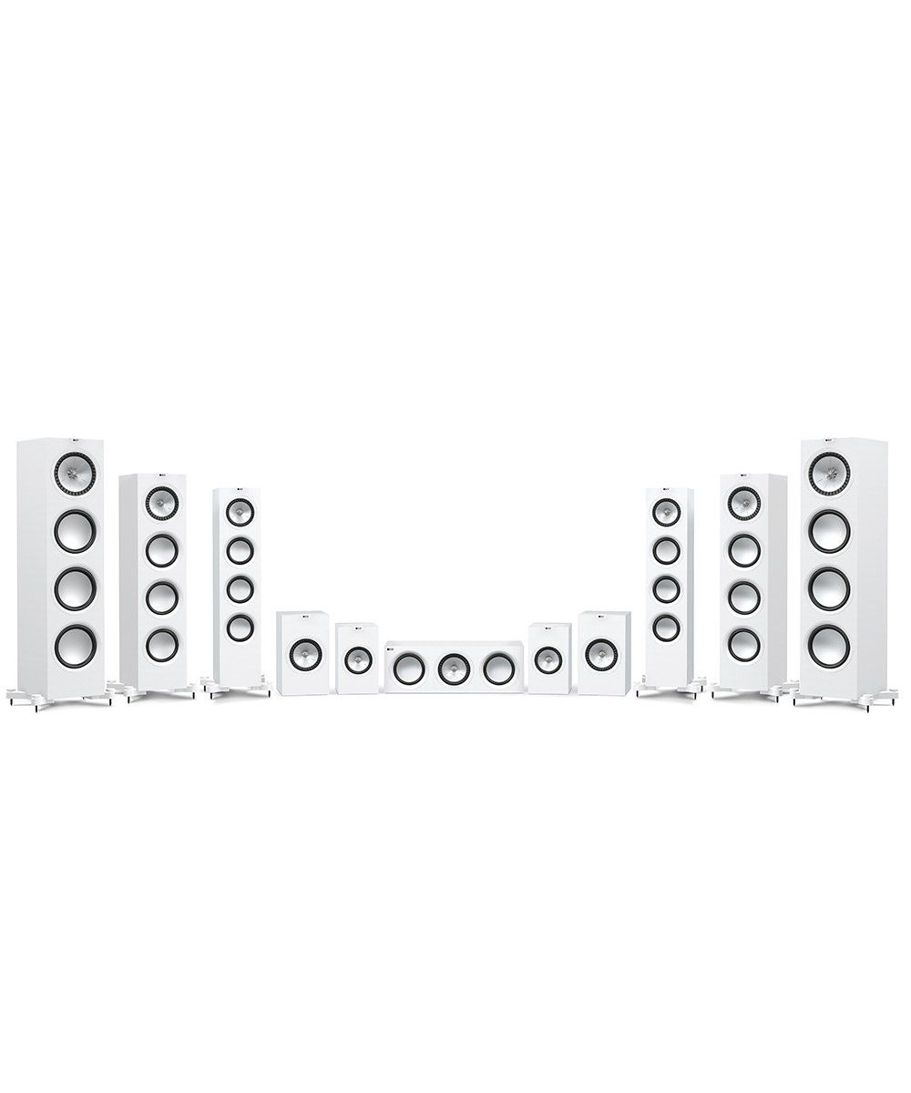 KEF Q Series Complete Line in White