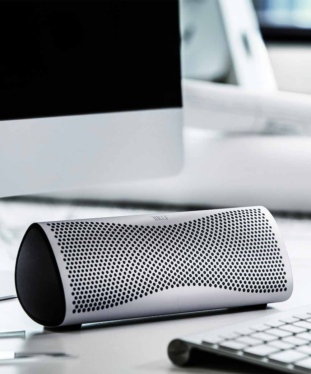 Muo Portable Bluetooth Speaker Apple Computer | KEFDirect