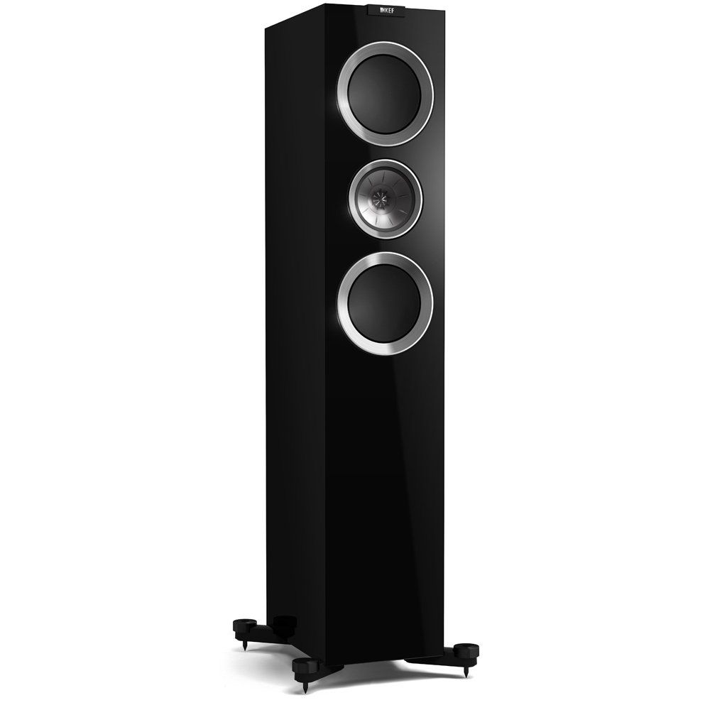 KEF R700 Speaker in Piano Black