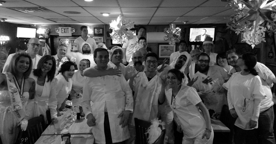 KEF America Holiday Party 2015: Wear White & No Napkins Night
