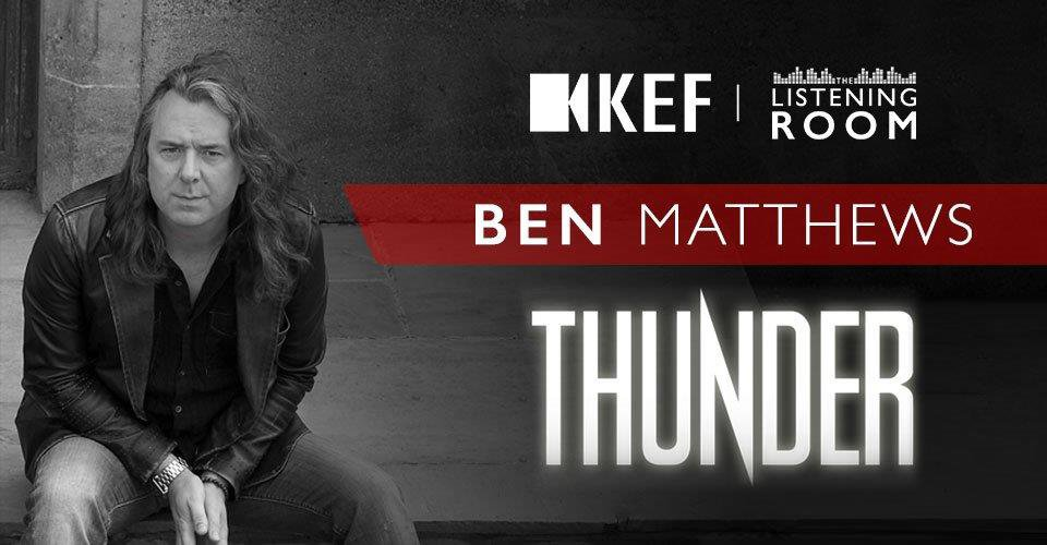 Thunder's Ben Matthews Joins Us From Rockfield Studios in Wales