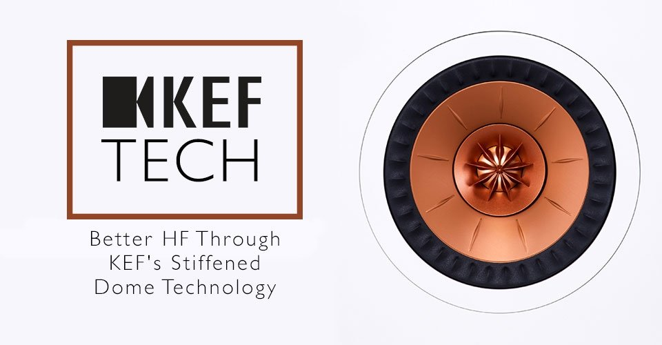 Better HF Through Science: KEF's Stiffened Tweeter Dome Technology