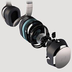 KEF Porsche Space One HiFi Headphones