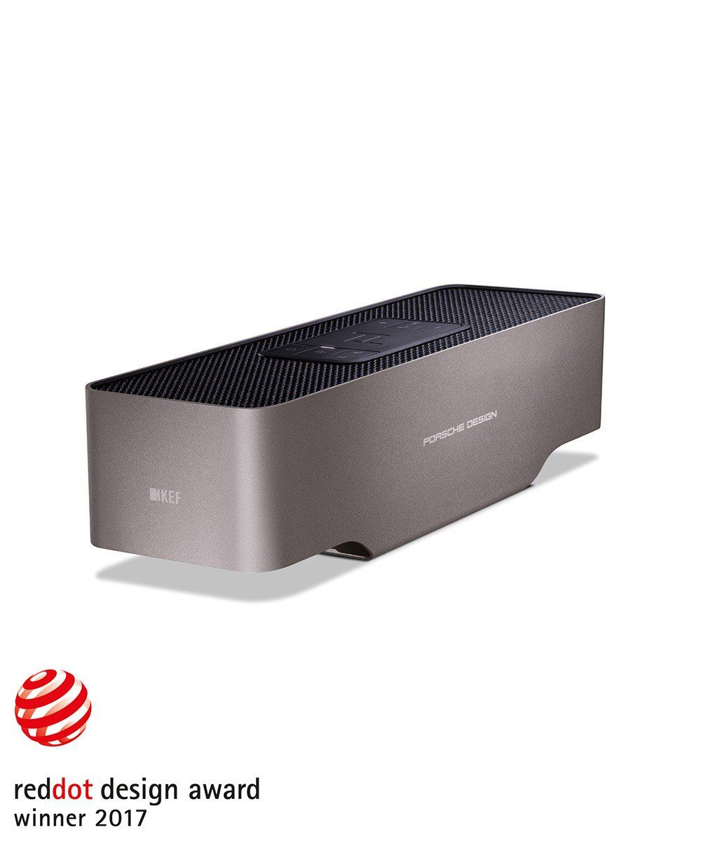 KEF Porsche Design Gravity One Front reddot award