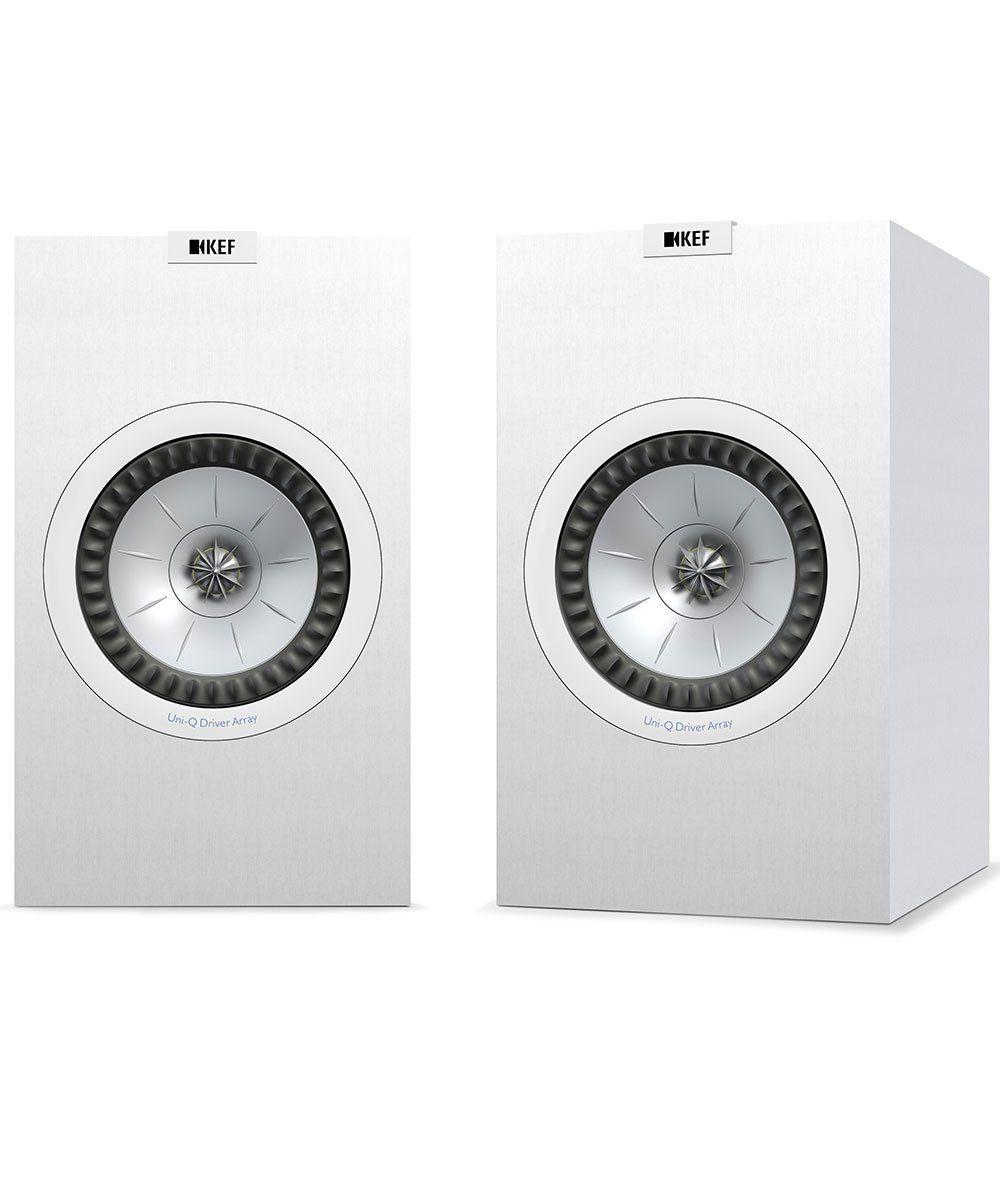 KEF Q350 Bookshelf Speaker Pair in White