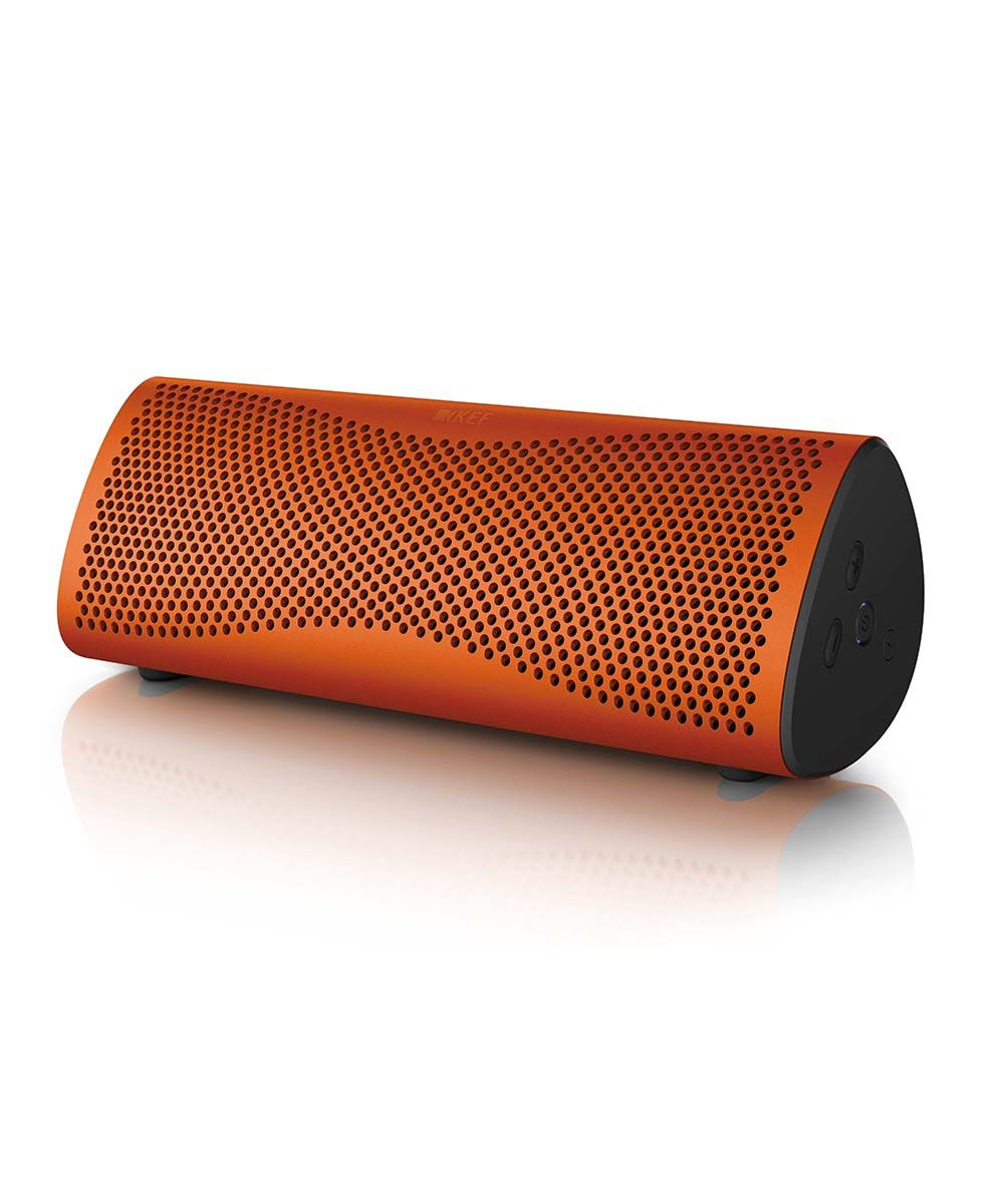 Muo Portable Bluetooth Speaker Orange | KEFDirect