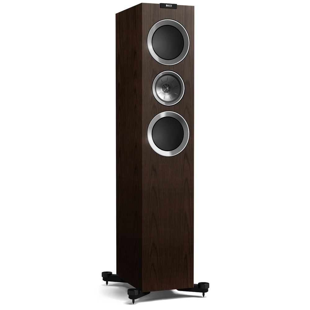 KEF R700 Speaker in Walnut