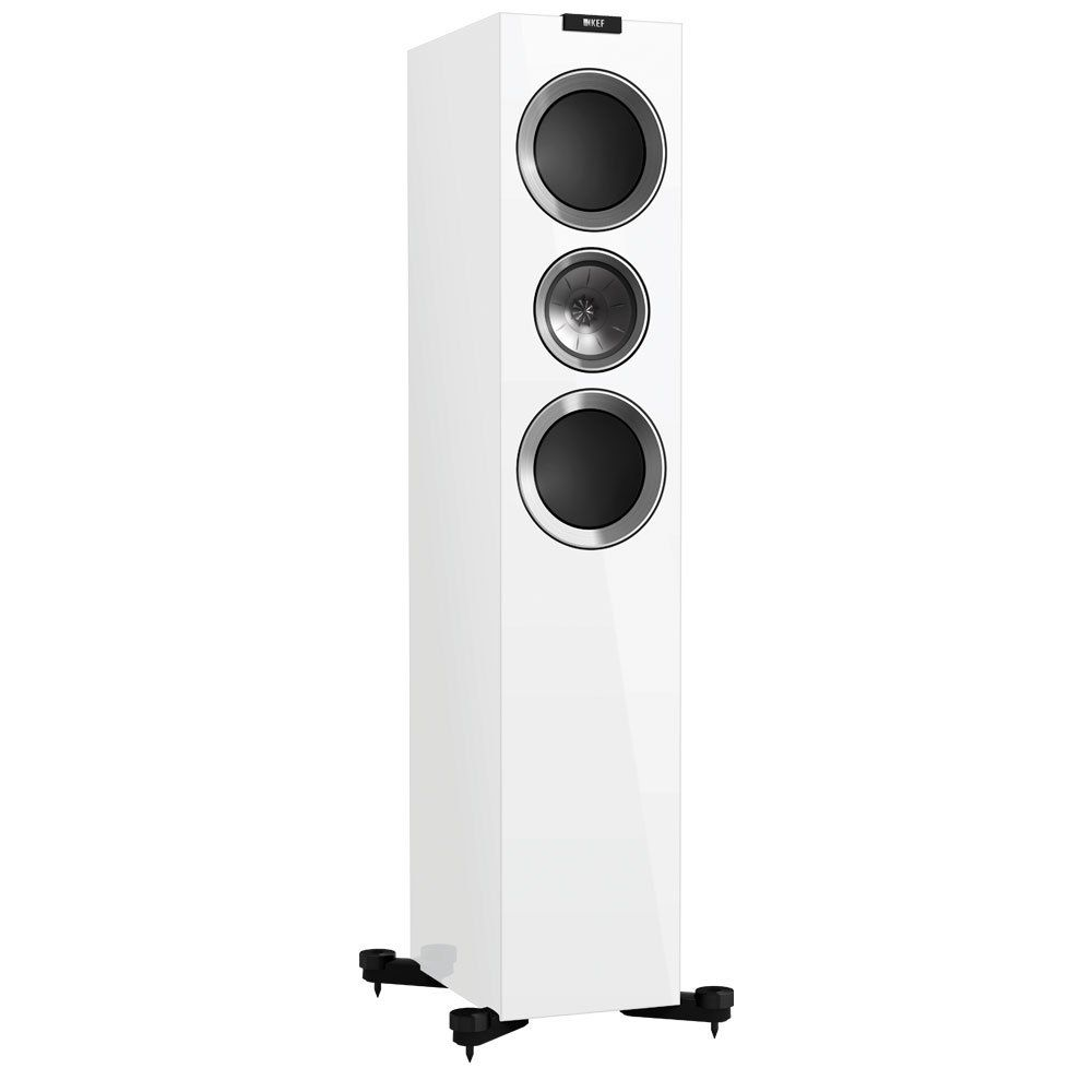 KEF R700 Speaker in Linear White