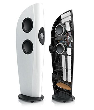 KEF Blade & Blade TWO Feature Discrete Bass Chambers