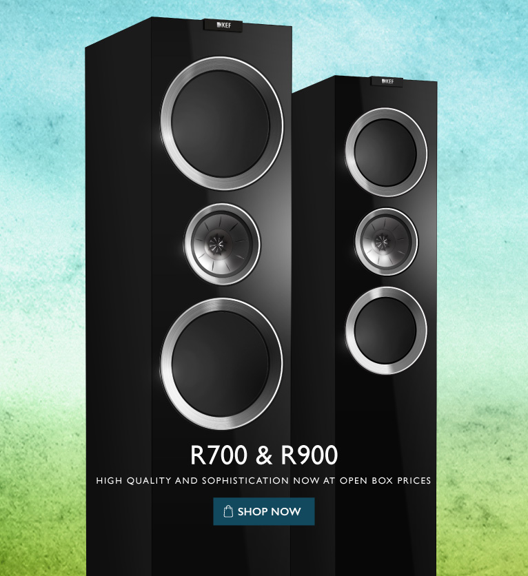 KEF R SERIES OPEN BOX - STORE
