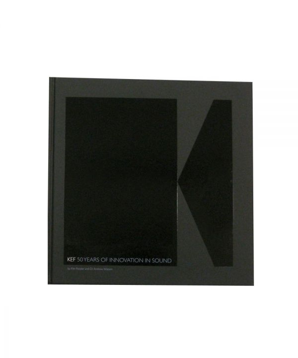 KEF 50 Years of Innovation in Sound Limited Edition Book