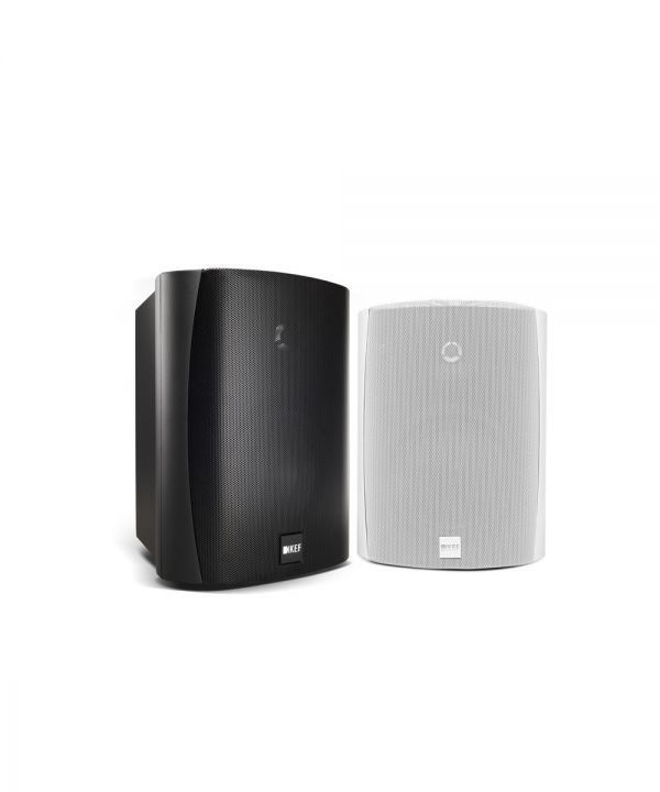 KEF Ventura 5 Outdoor All-Weather Speaker Pair - Black & White shown | KEF Direct