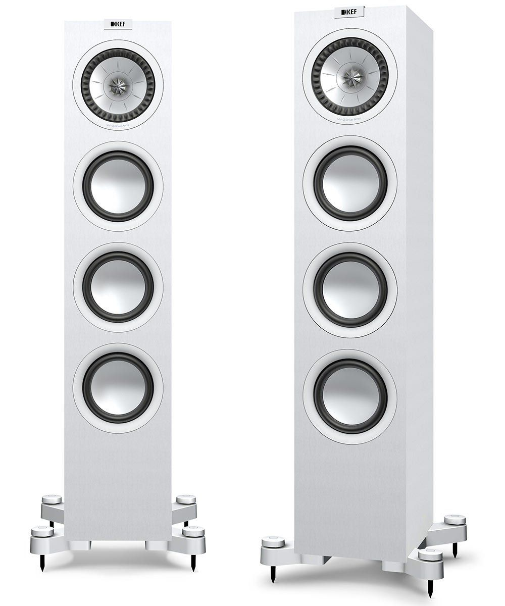 KEF Q550 Floorstanding Speaker in White