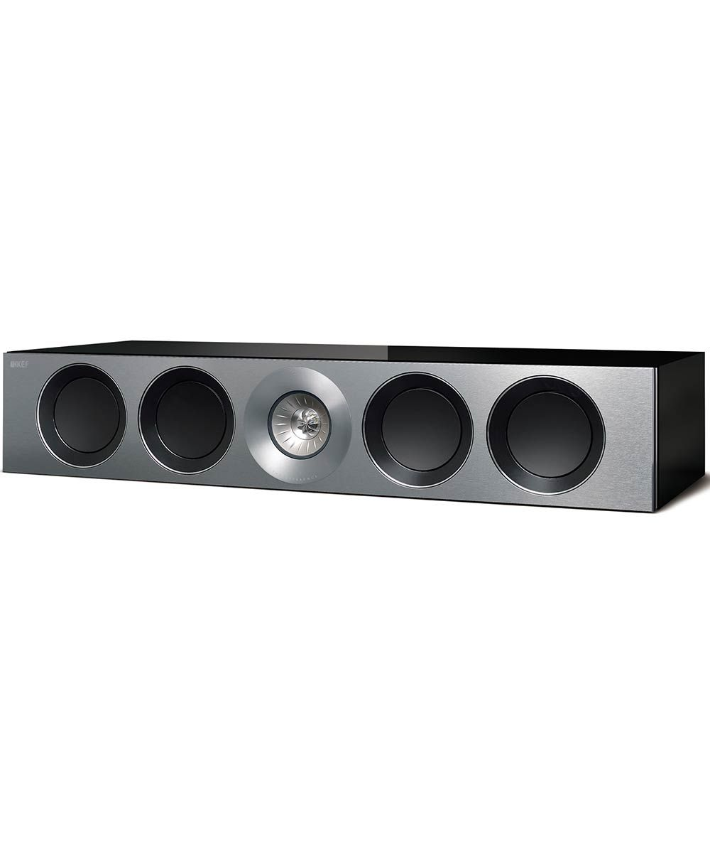 Reference 4c Center Channel Speaker in Gloss Black | KEFDirect