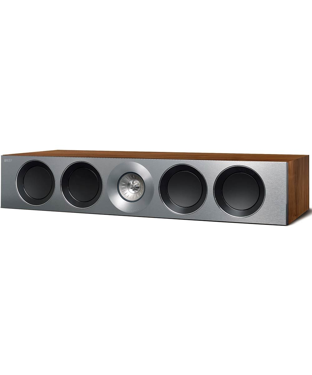 Reference 4c Center Channel Speaker in Satin Walnut | KEFDirect