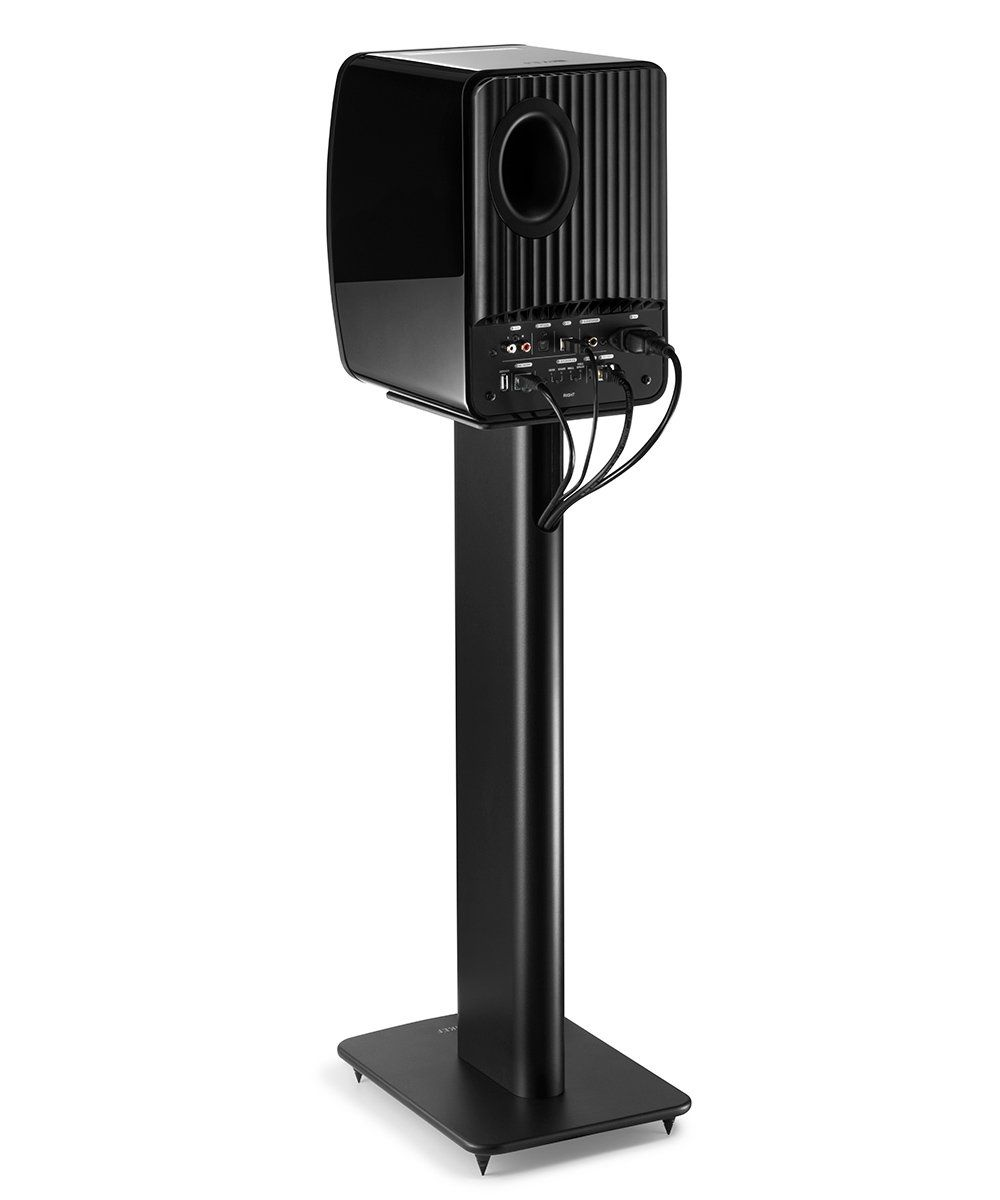 KEF Performance Speaker Stand Black Back