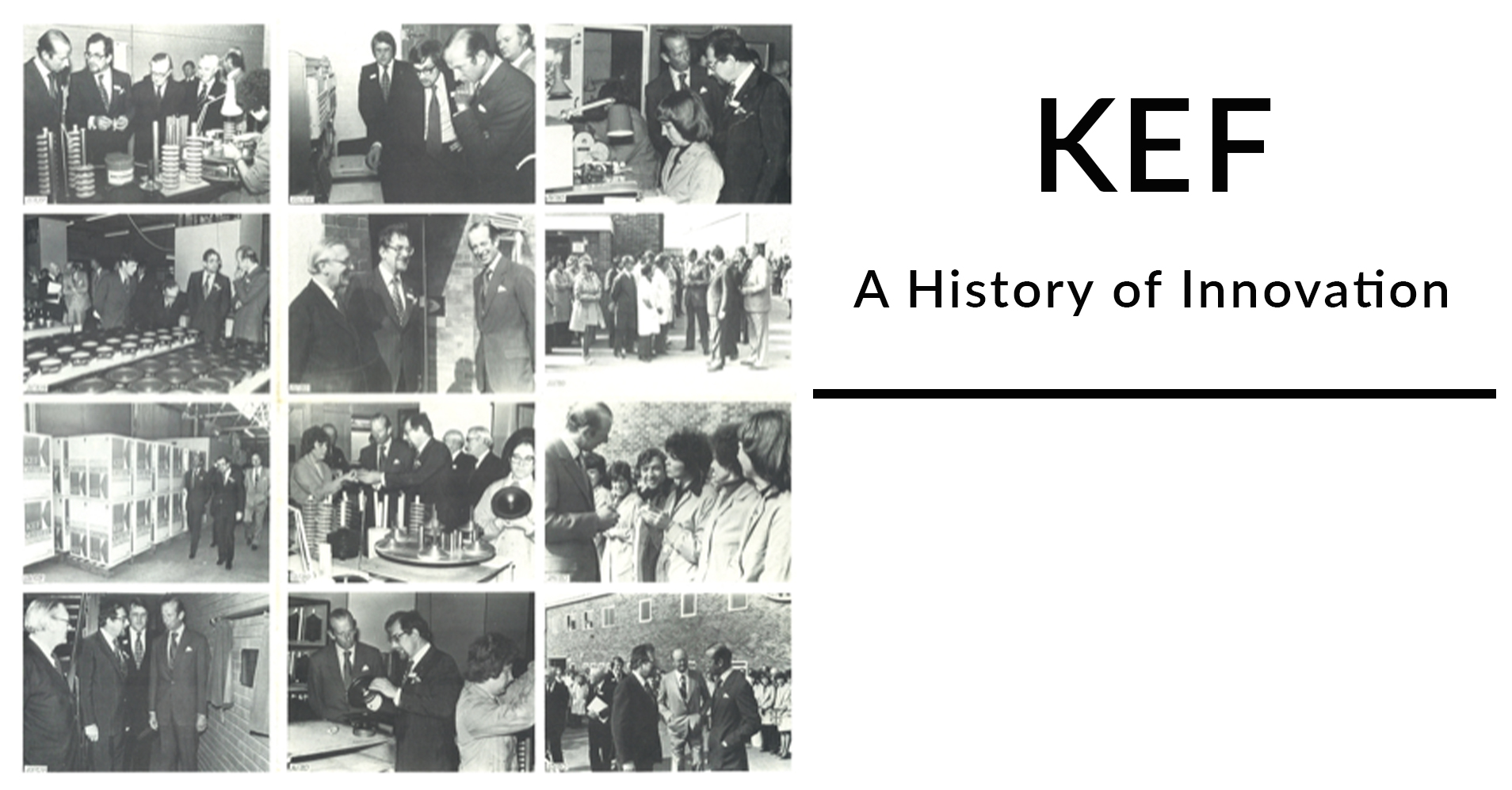 Six Decades of Innovation: KEF For Others