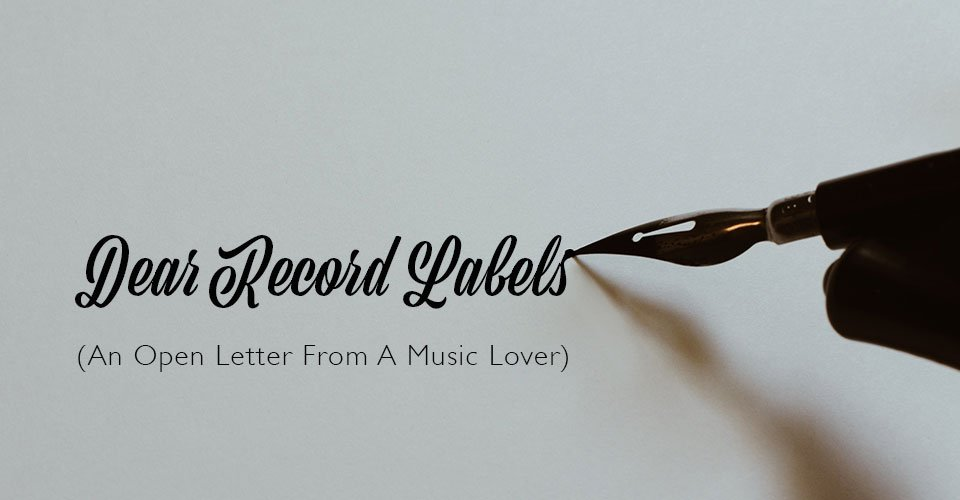 Dear Record Labels: Believe It Or Not Music Fans Like Music That Sounds Good