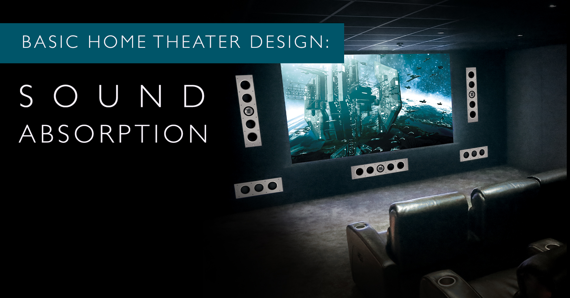 Basic Home Theater Design: First Reflections and Absorption