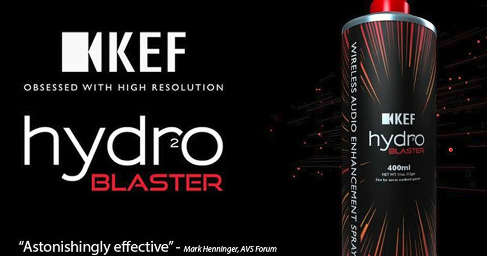 KEF Hydro Blaster: Improved Wireless Audio Experience In A Can