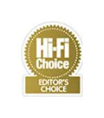 5 Star Editor's Choice Award Hi-Fi Choice KEF BLADE